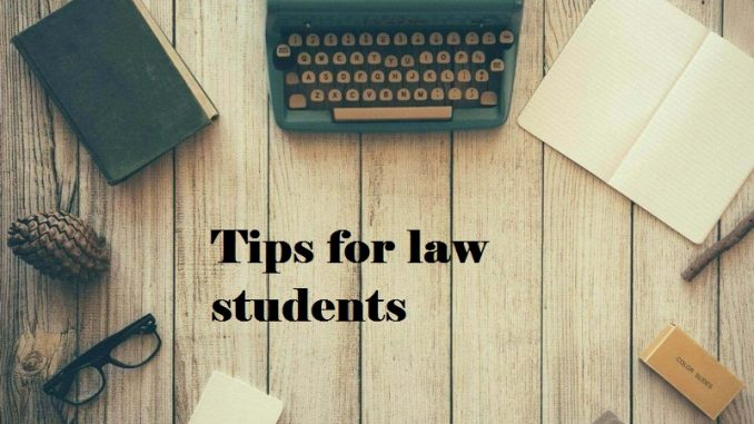 tips for law students