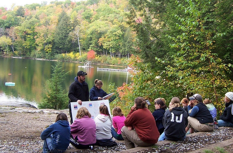 Benefits of outdoor education for students