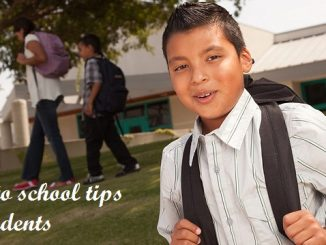 Back to school tips for students