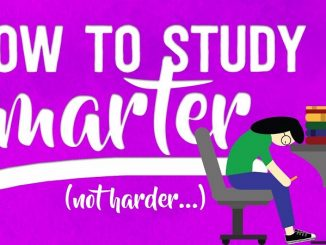 How to study smarter not harder