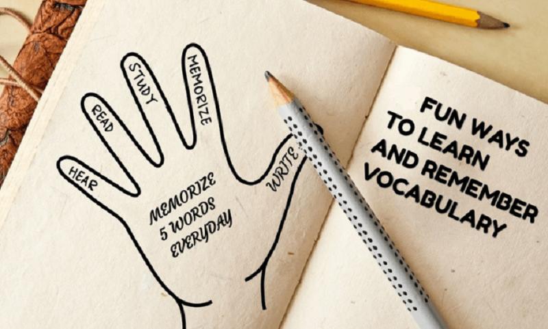 Fun methods to memorize vocabulary